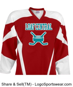 Canadia Loaf Hockey Jersey Design Zoom